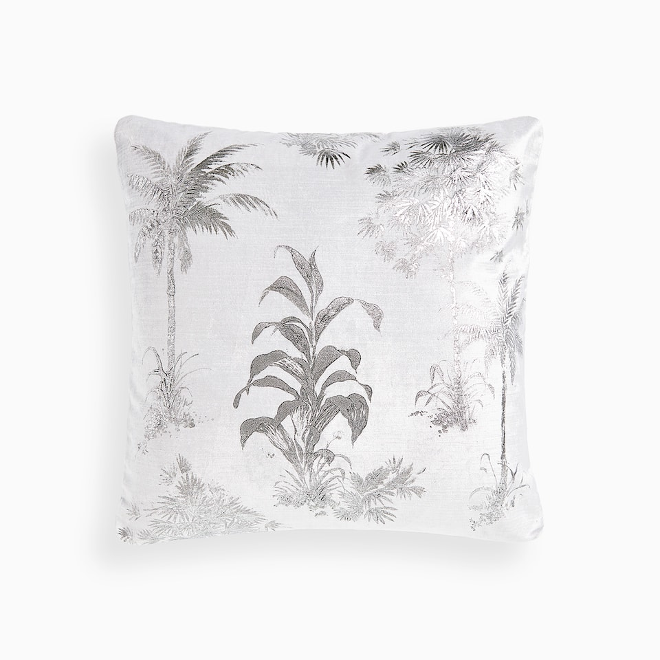 EXOTIC PLANTS CUSHION COVER