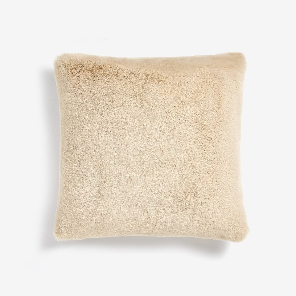 FURRY THROW PILLOW COVER