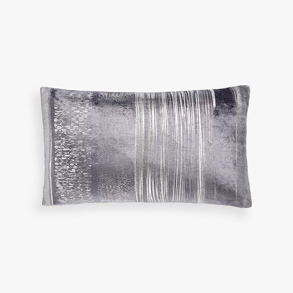 TEXTURED-EFFECT CUSHION COVER