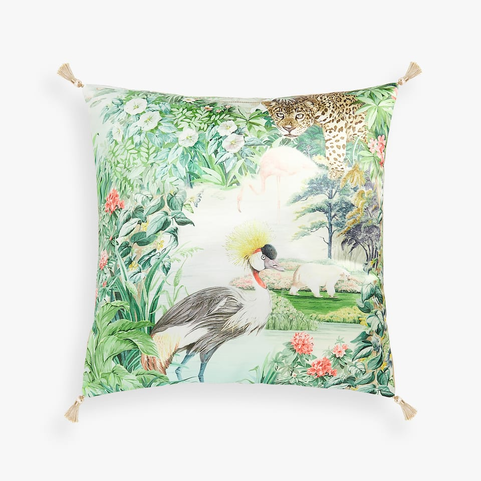 BOTANICAL CUSHION COVER