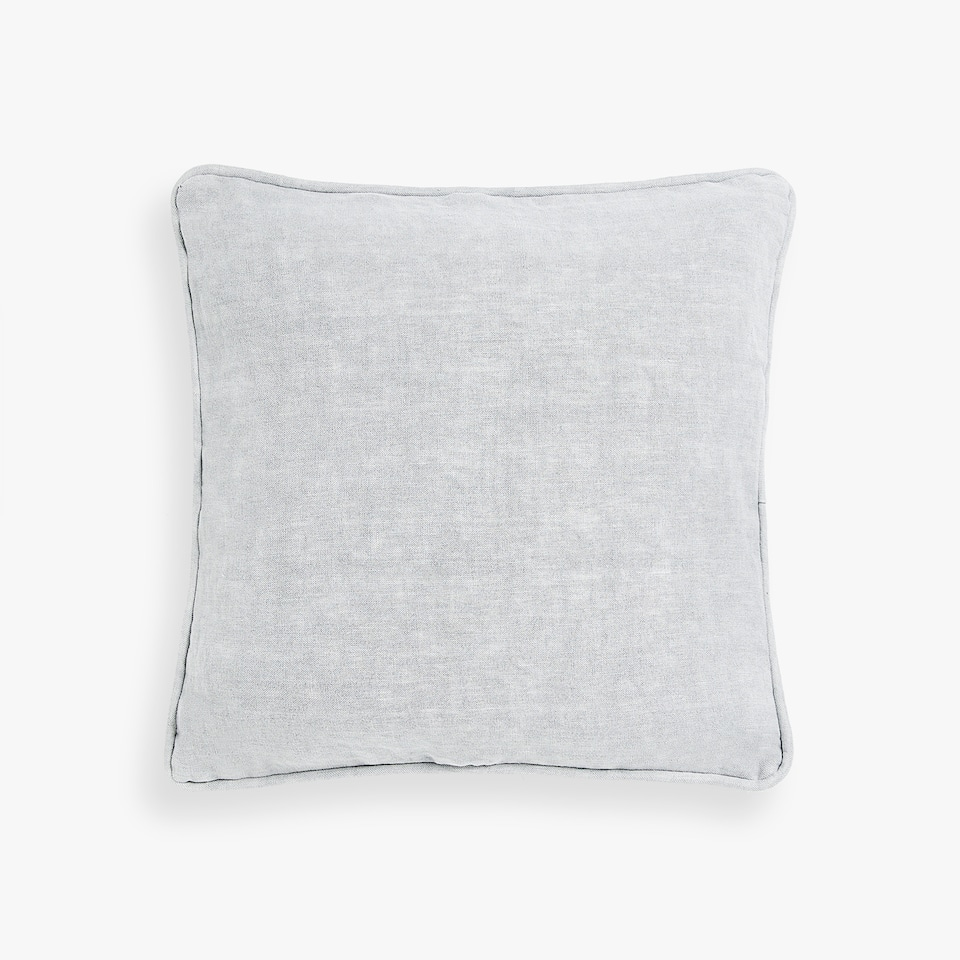 COARSE LINEN CUSHION COVER