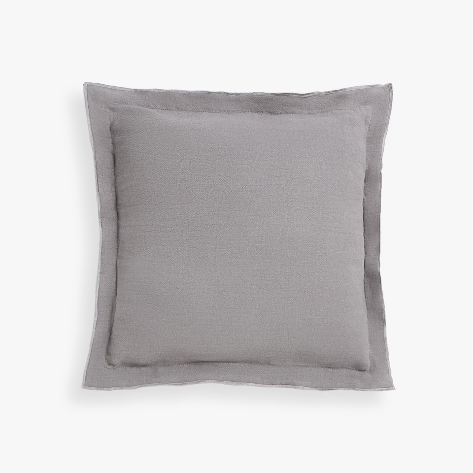 LINEN THROW PILLOW COVER