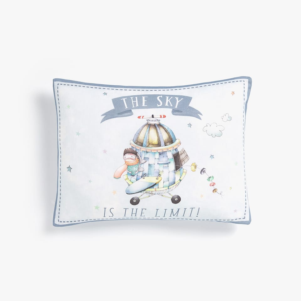 CHILD INVENTOR CUSHION COVER