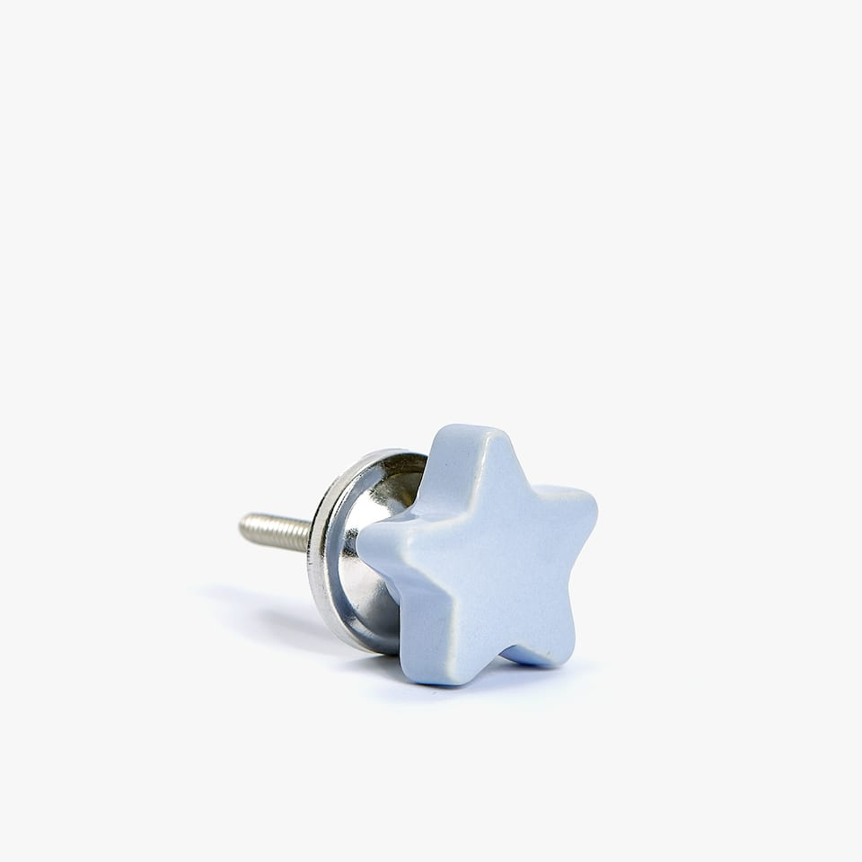 STAR SHAPED DOOR KNOB (PACK OF 2)