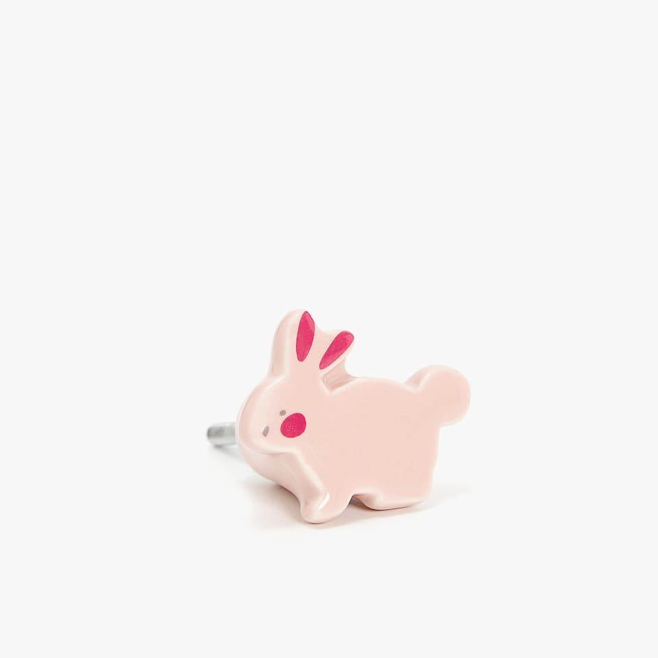 RABBIT DOOR KNOB (PACK OF 2)