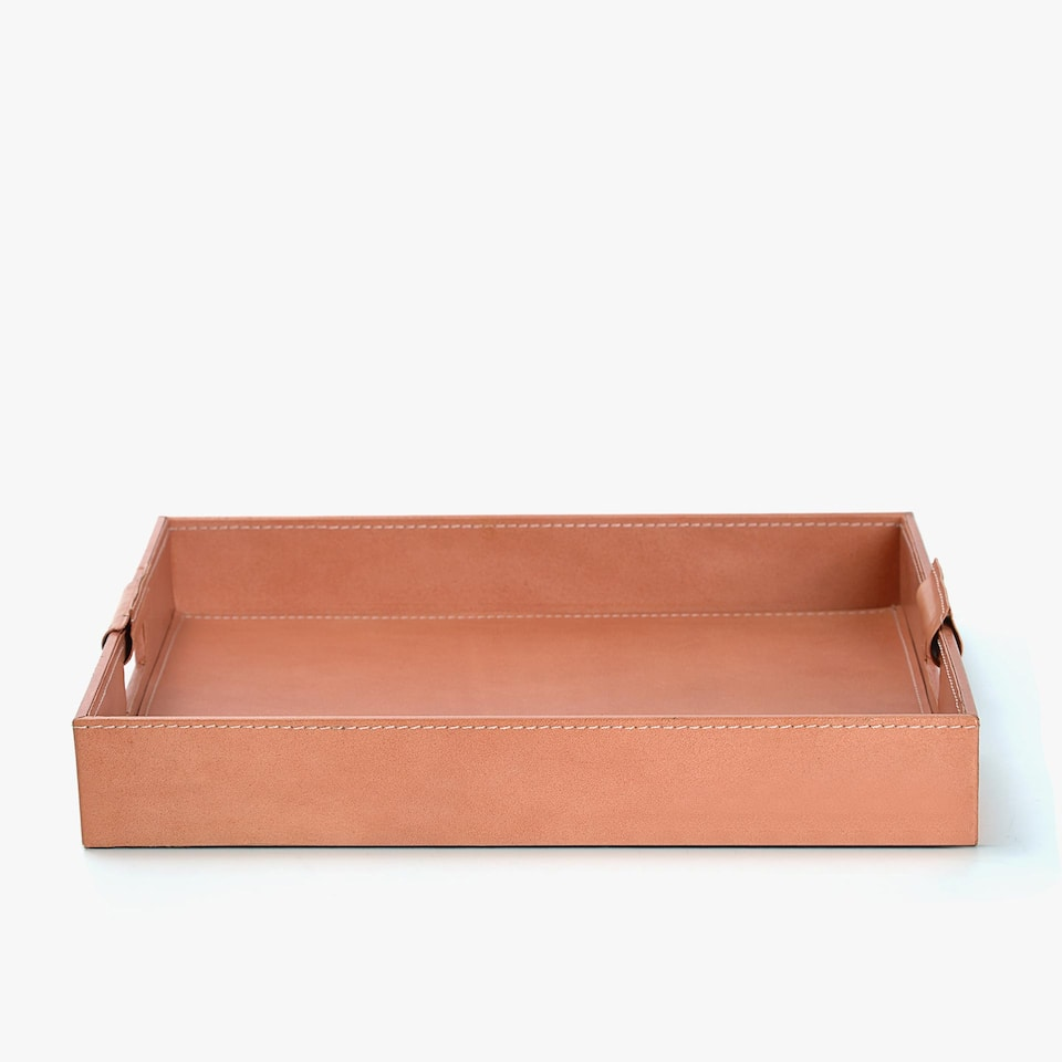 LEATHER RECTANGULAR TRAY