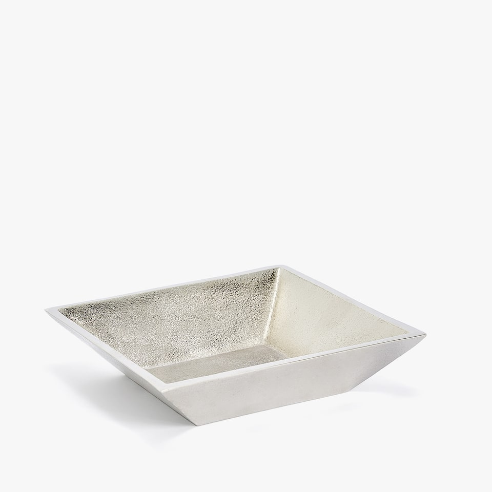 SQUARE METAL ASHTRAY
