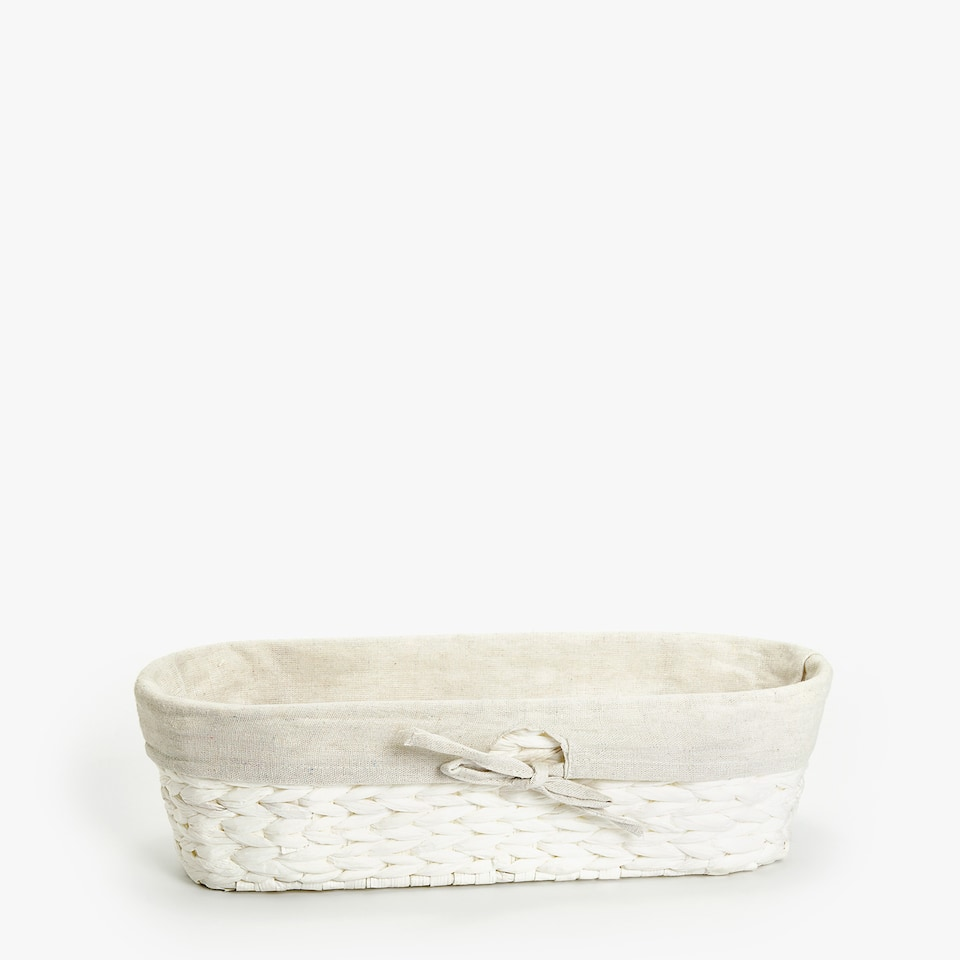 PLAITED BREAD BASKET