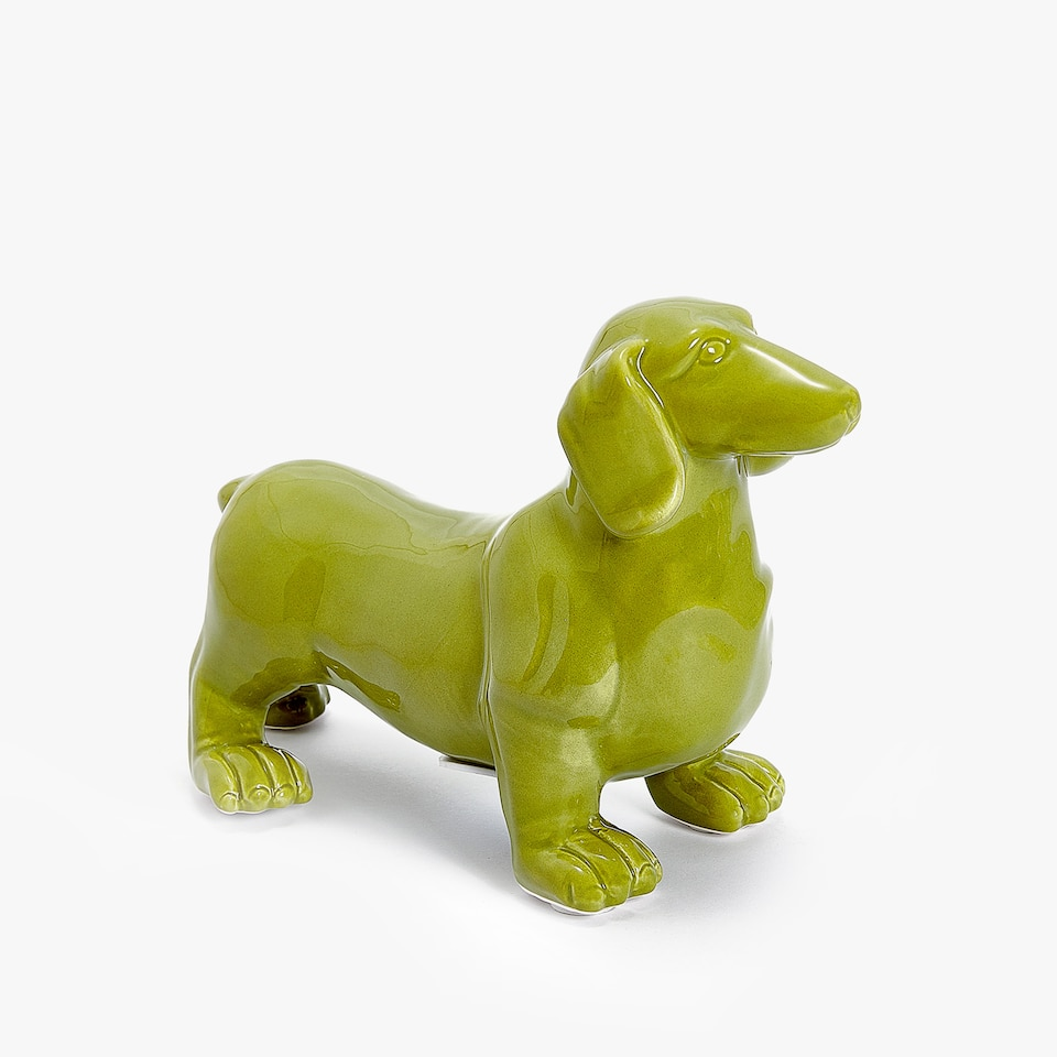 SAUSAGE DOG PIGGY BANK