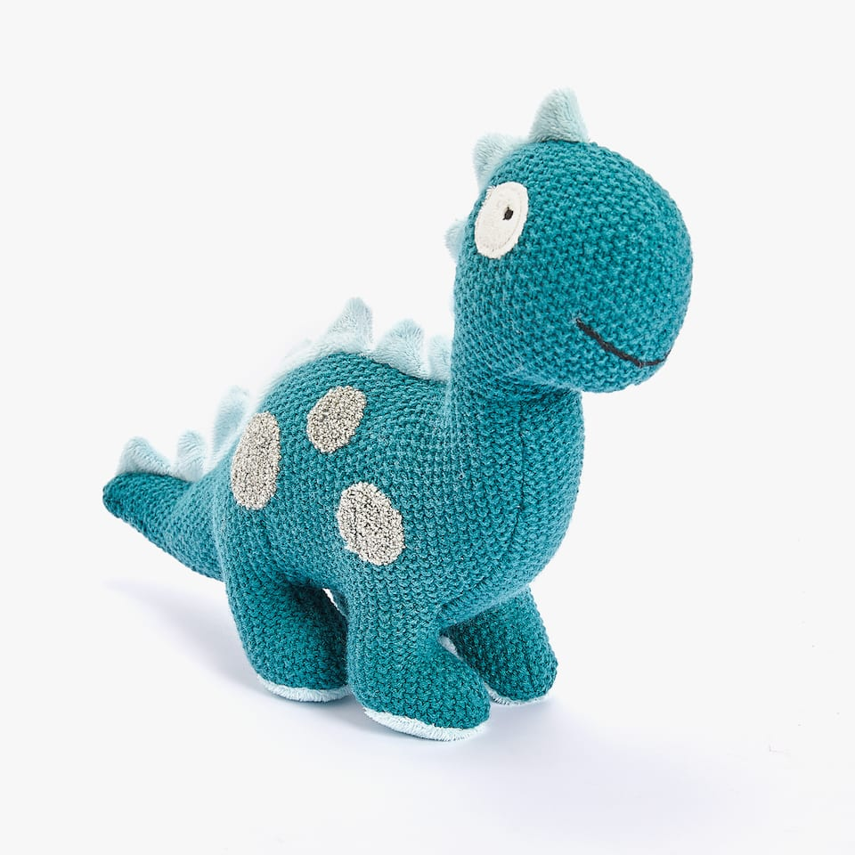 CROCHET DINOSAUR SOFT TOY