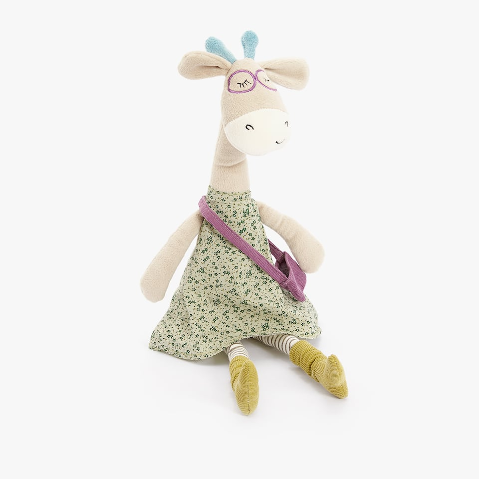 GIRAFFE SOFT TOY WITH DRESS