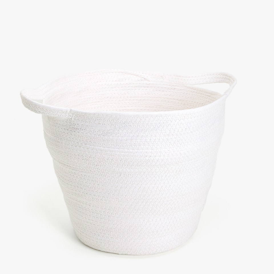PAPER BASKET WITH HANDLES