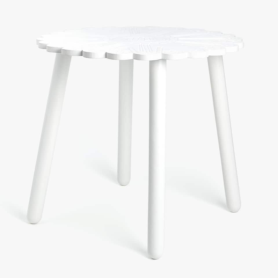 ENSEMBLE TABLE ET TABOURET