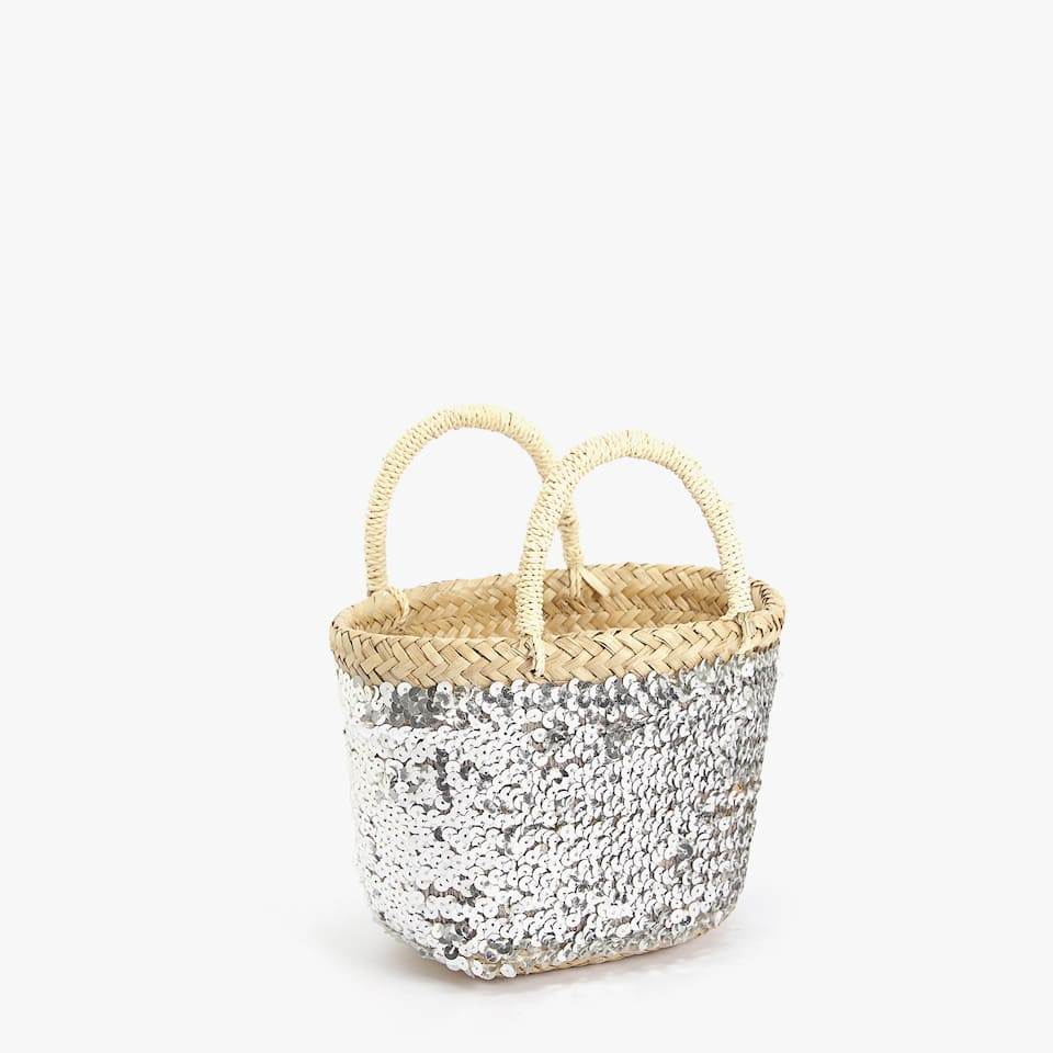 KIDS SEQUINS BASKET