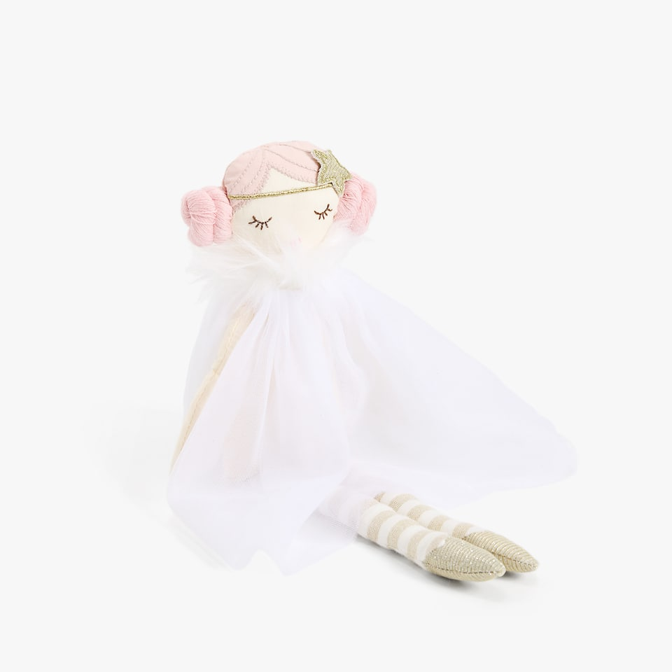 PRINCESS DRESS SOFT TOY