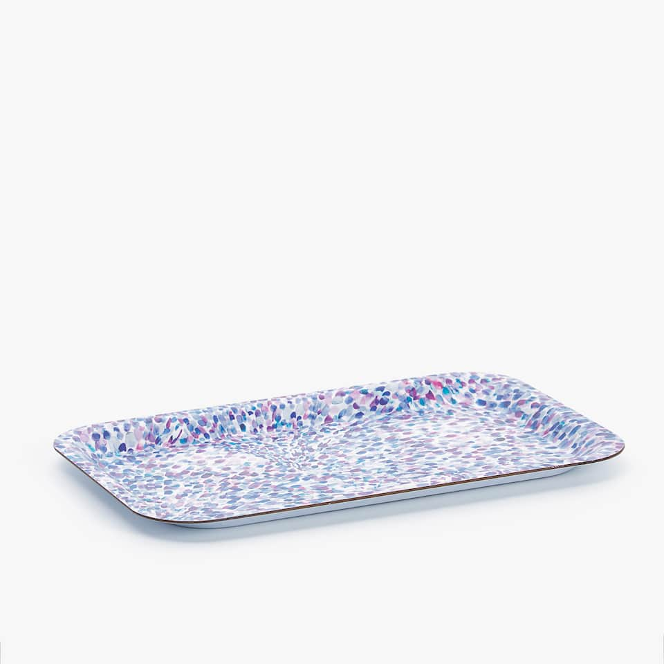 MULTICOLOURED DOTS TRAY
