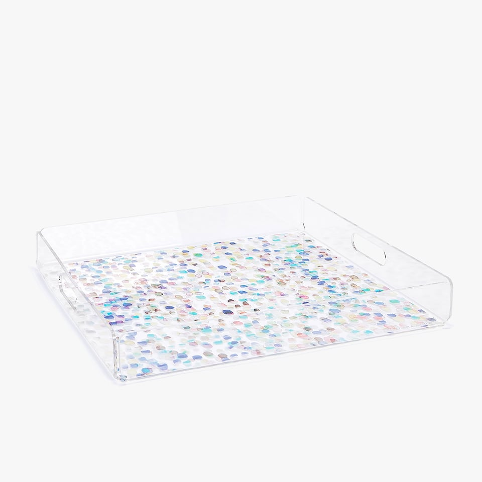 MULTICOLOURED PRINT TRAY