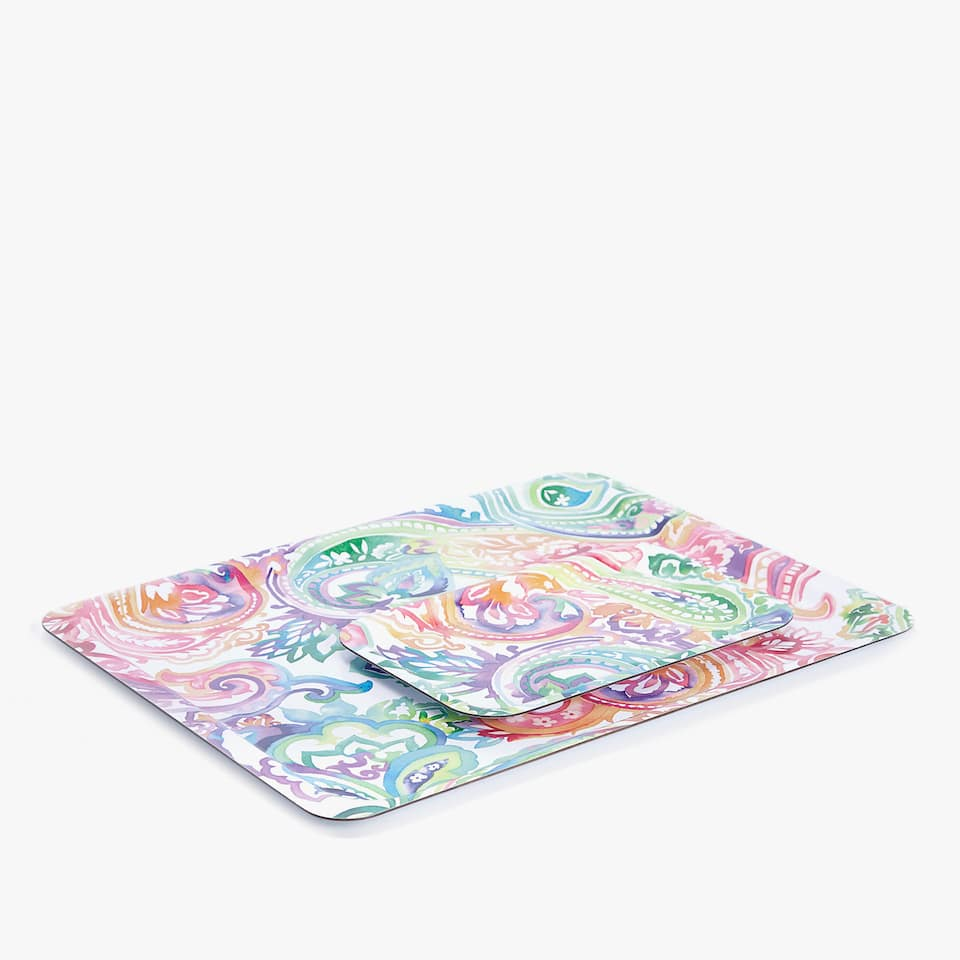 SMALL PAISLEY TRAY