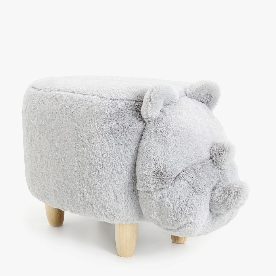 RHINO SHAPED STOOL