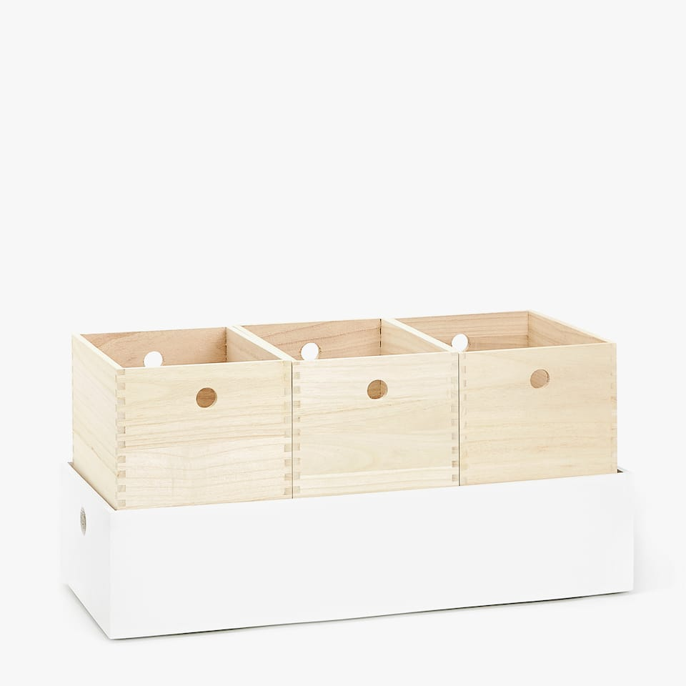 WOODEN BOXES SET