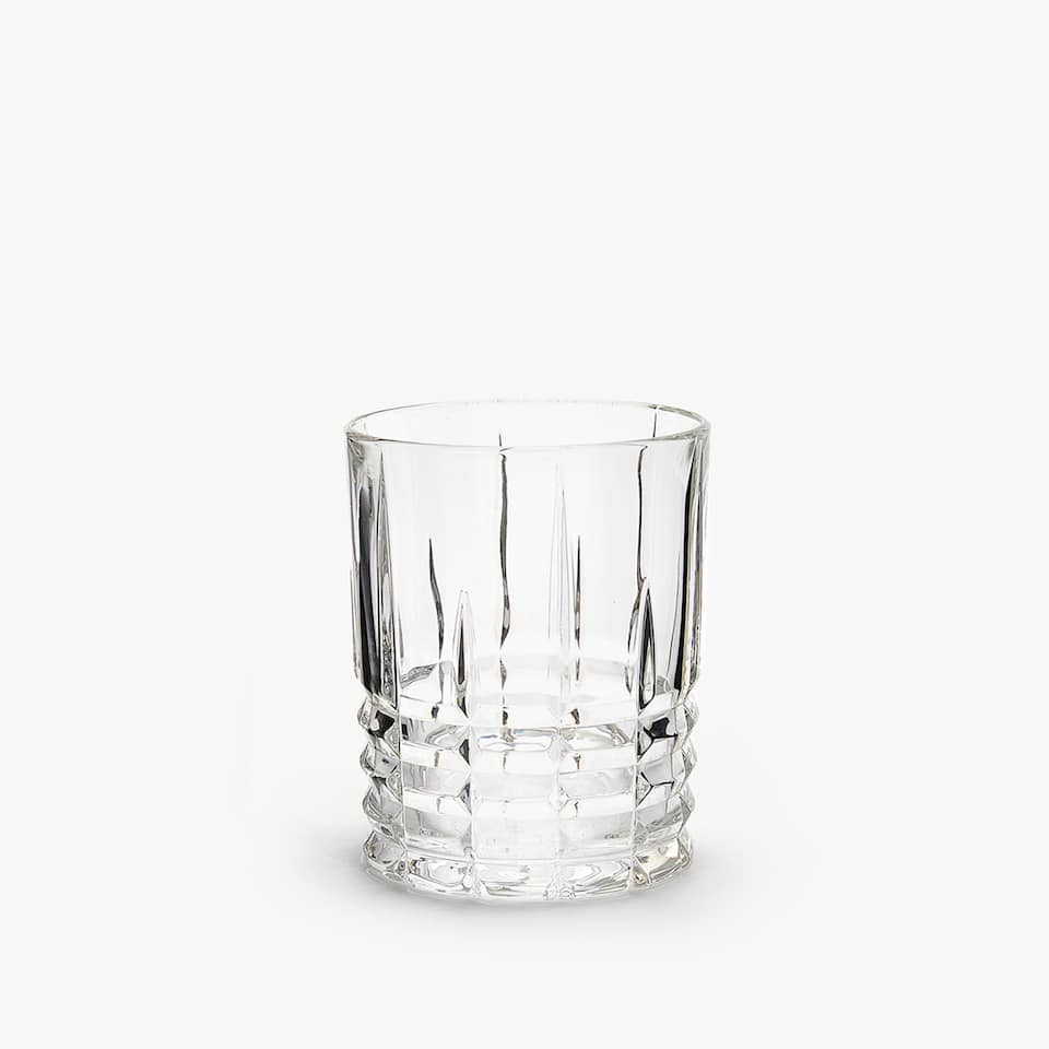 CUT GLASS TUMBLER