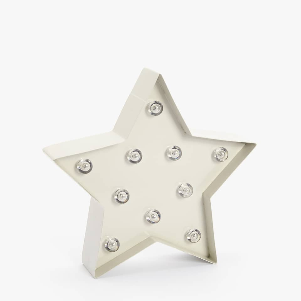 KIDS STAR-SHAPED LAMP
