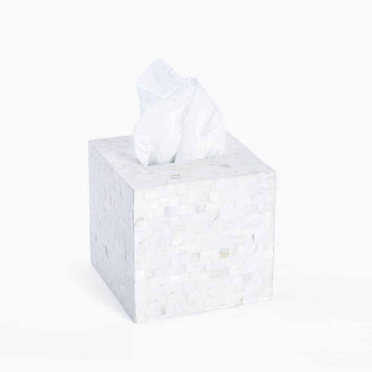 + Image 1 of the product MOTHER-OF-PEARL TISSUE BOX