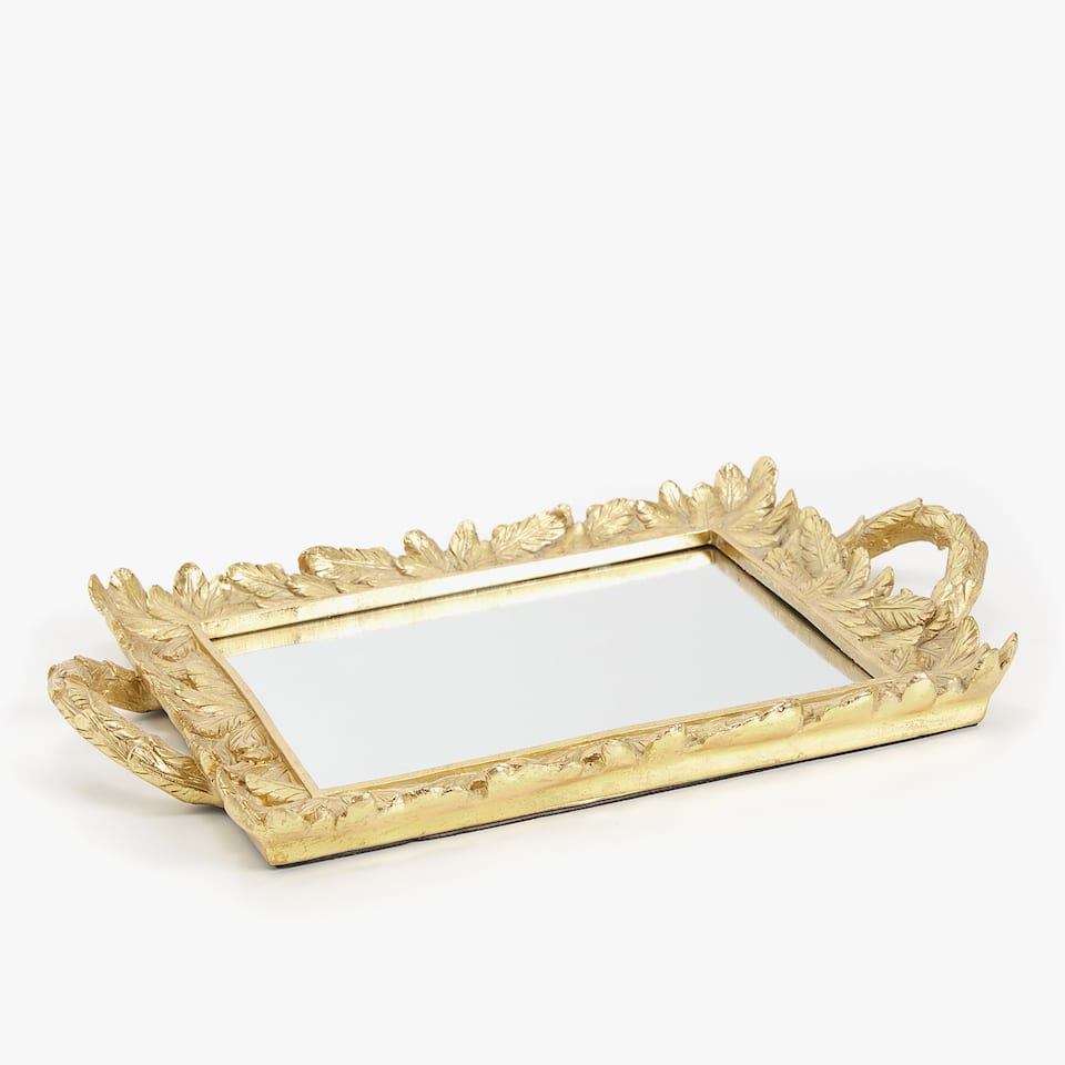 GOLDEN LEAVES TRAY