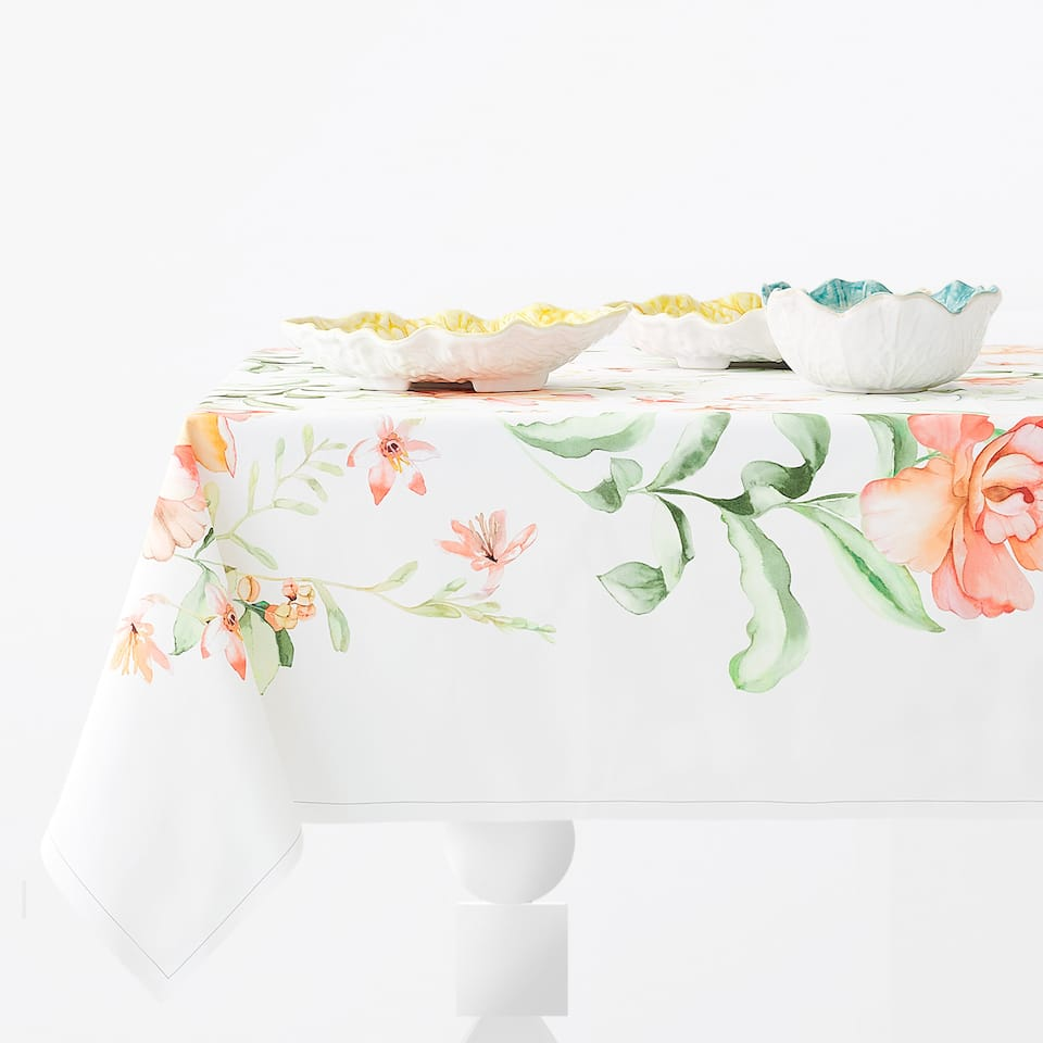 BOTANIC PRINT TABLECLOTH