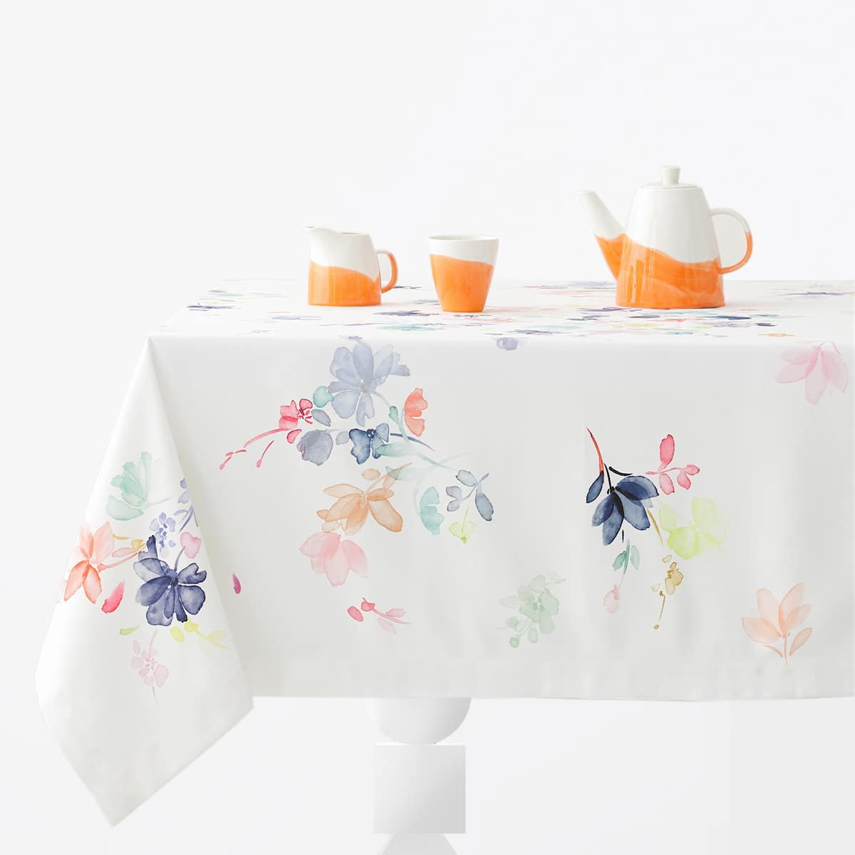 watercolor floral tablecloth zara home united states of america