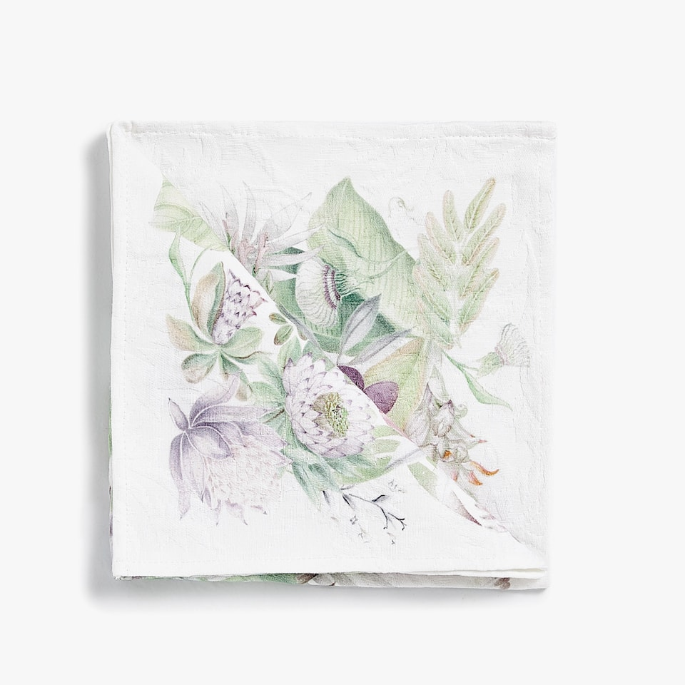 JACQUARD JUNGLE PRINT NAPKIN (PACK OF 4)