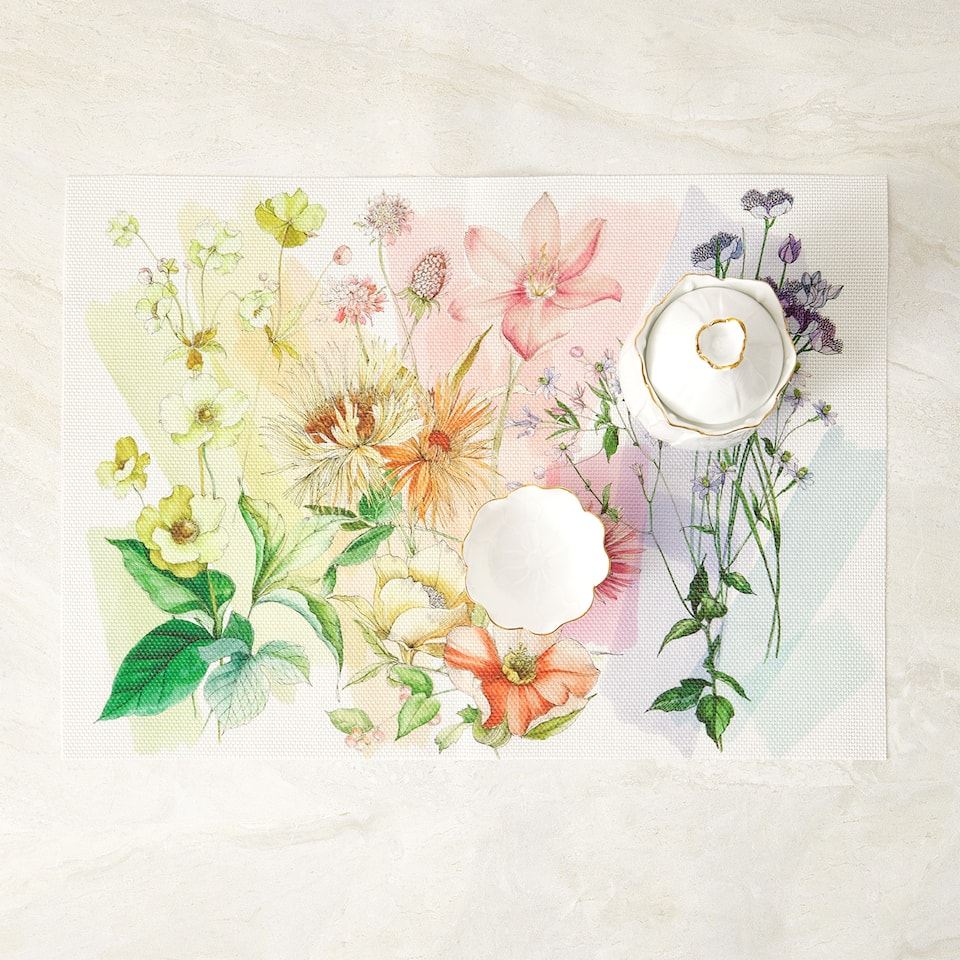 FLORAL PLACEMAT (PACK OF 2)