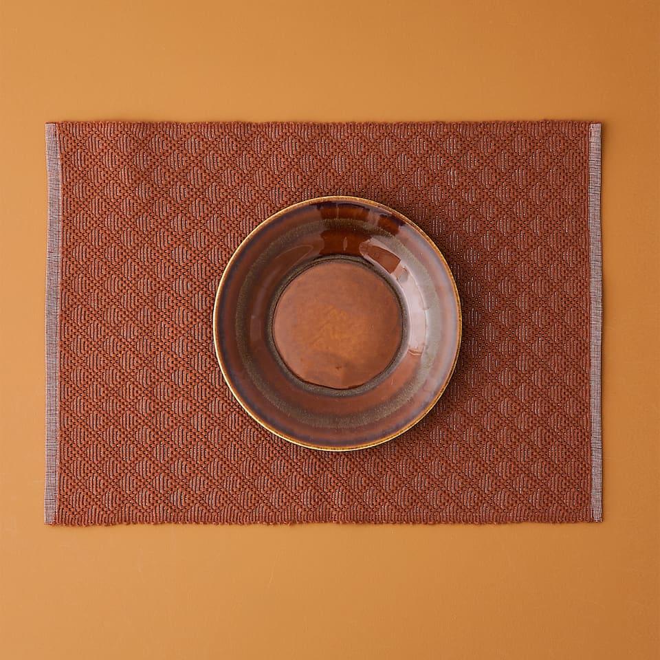 SET DE TABLE BICOLORE (LOT DE 2)