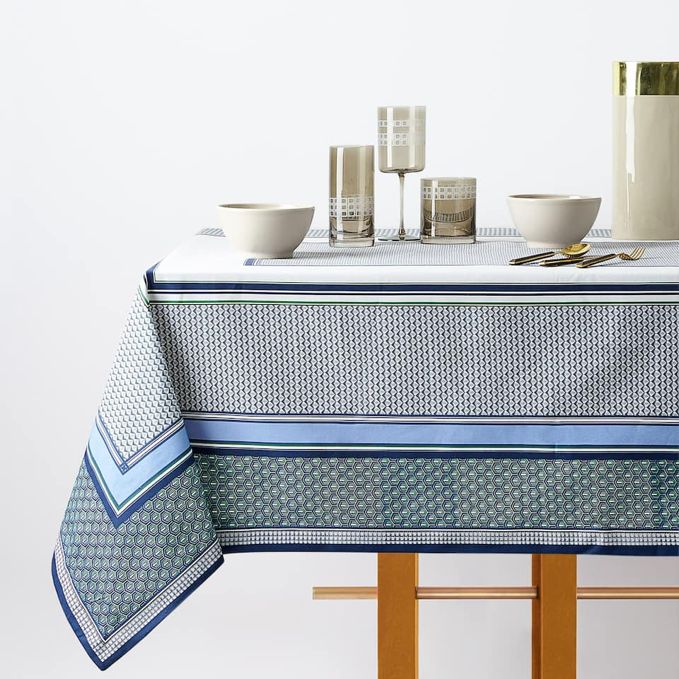 MULTI-CHECK TABLECLOTH