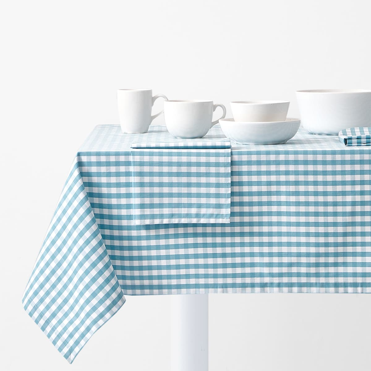 Delicieux + Image 1 Of The Product GINGHAM TABLECLOTH