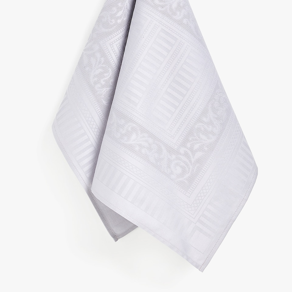 JACQUARD SATEEN TEA TOWEL