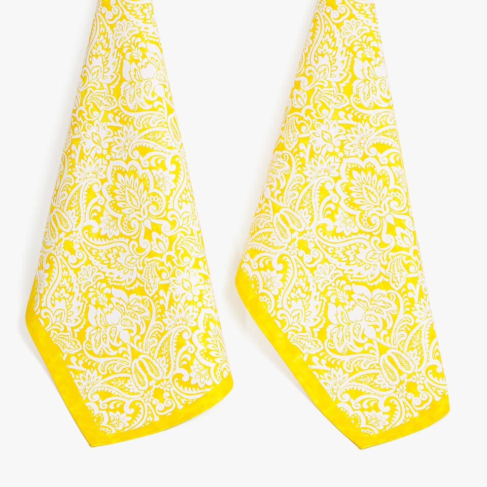 DAMASK TEA TOWEL (SET OF 2)