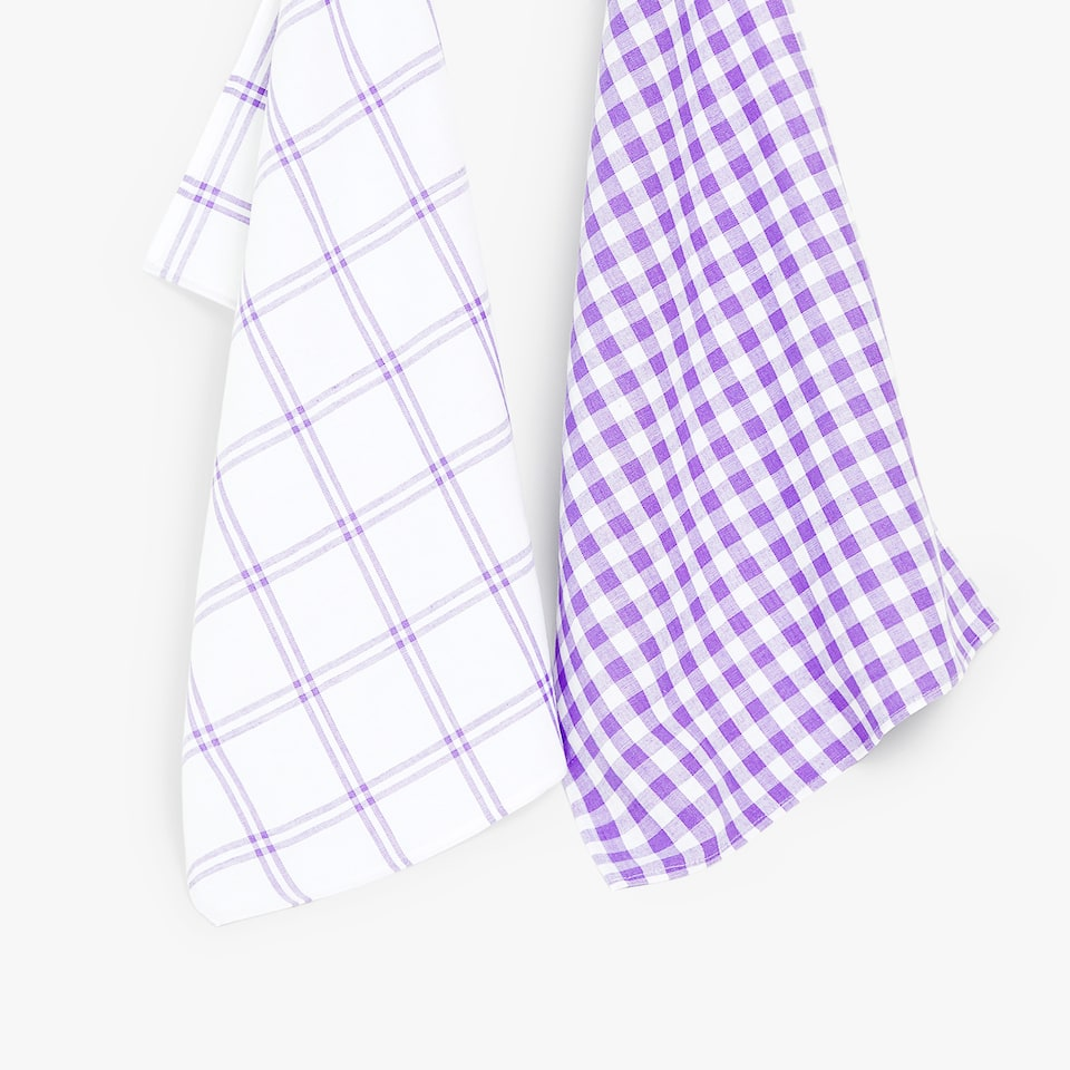 GEOMETRIC TEA TOWEL (SET OF 2)
