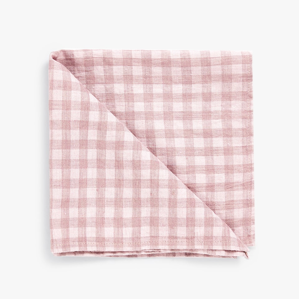 GINGHAM CHECK NAPKIN (PACK OF 2)