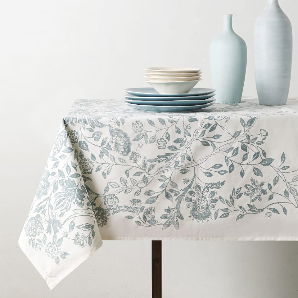 BRANCH PRINT TABLECLOTH