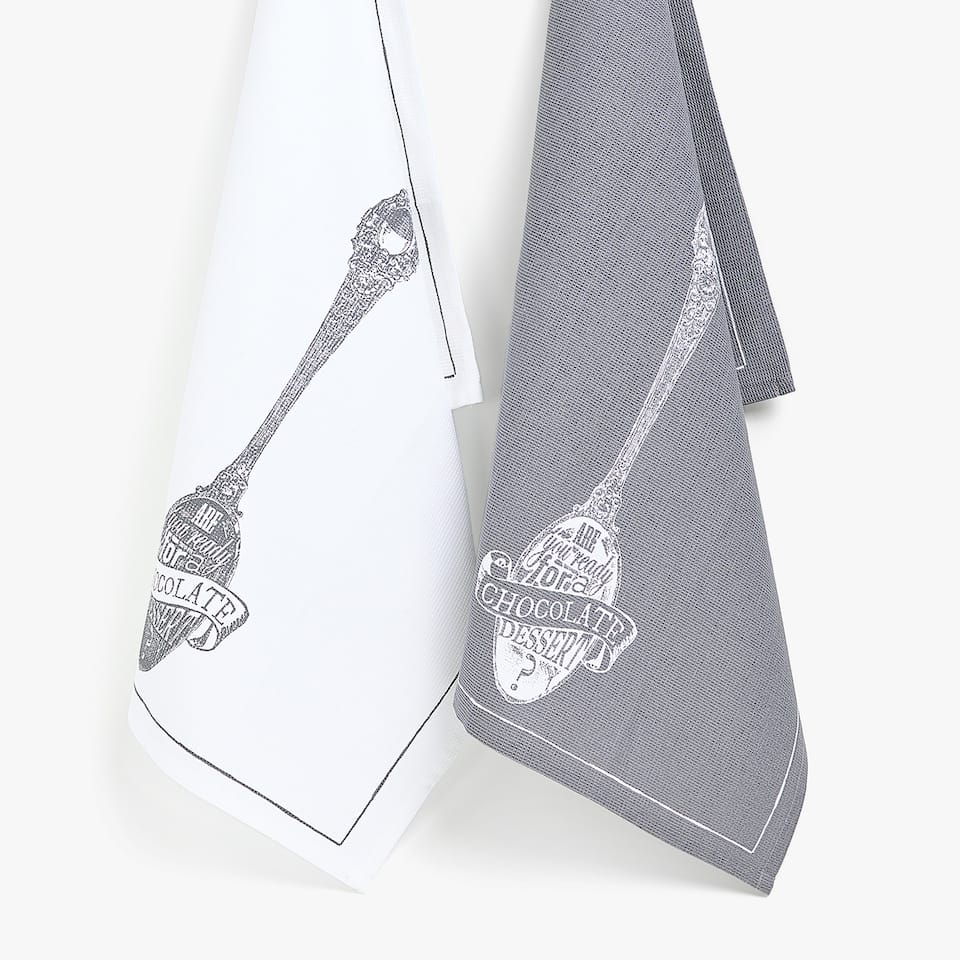 COTTON SPOON TEA TOWEL (SET OF 2)