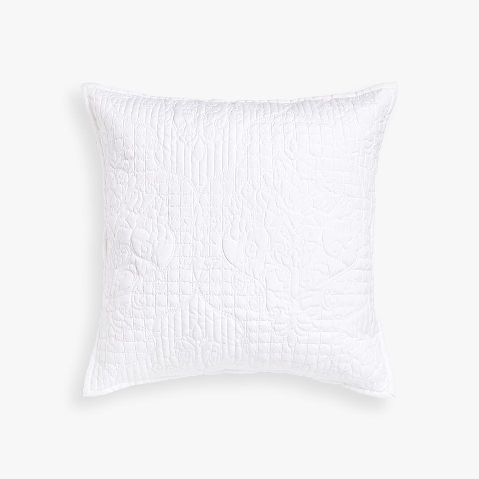DAMASK DESIGN CUSHION COVER