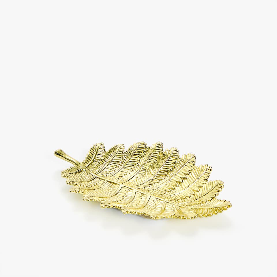 LEAF-SHAPED ASHTRAY