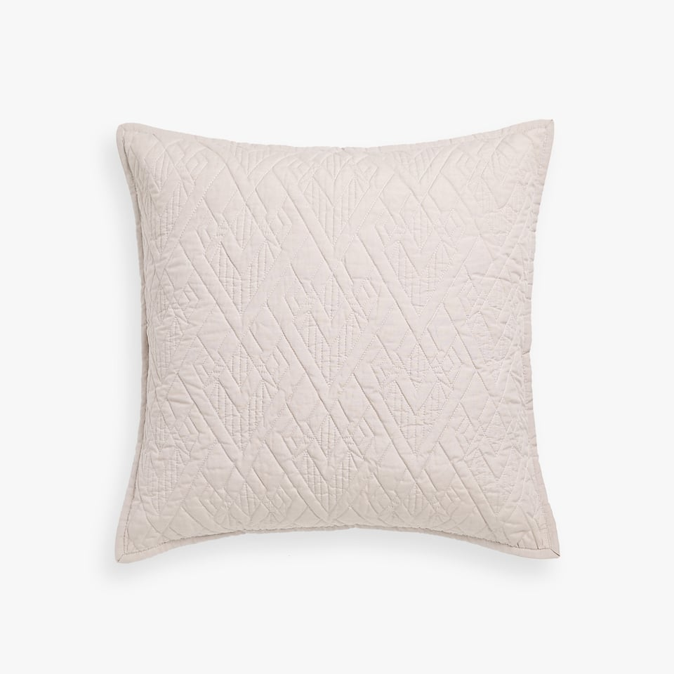 RAISED DIAMONDS PILLOW COVER