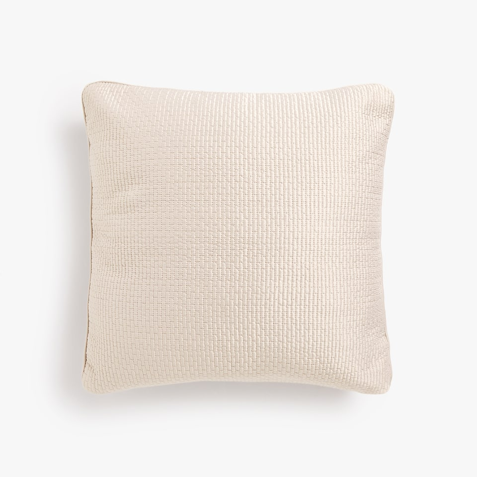GEOMETRIC DESIGN CUSHION COVER