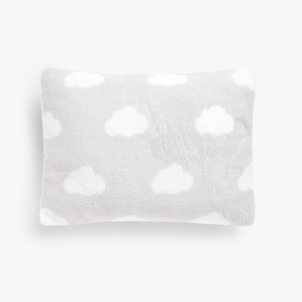 Kids jacquard fluffy cushion cover