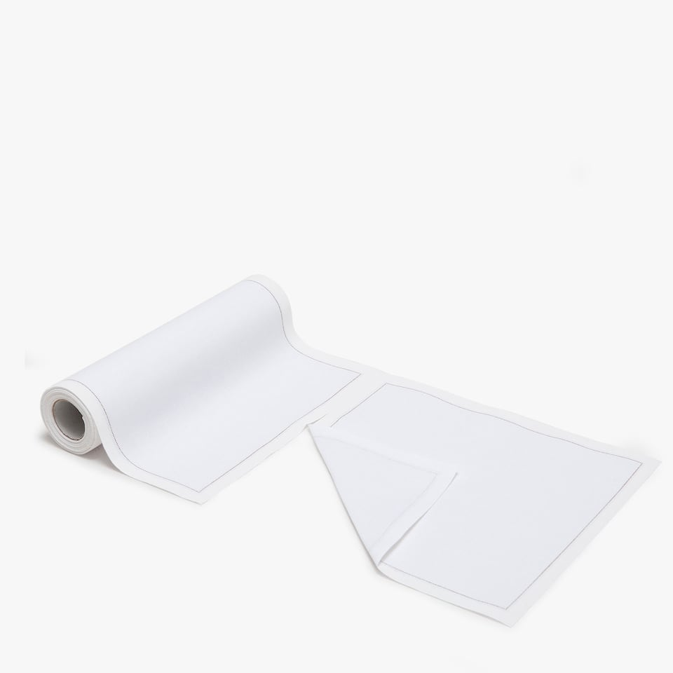 PRE-CUT COTTON NAPKIN (ROLL OF 20)