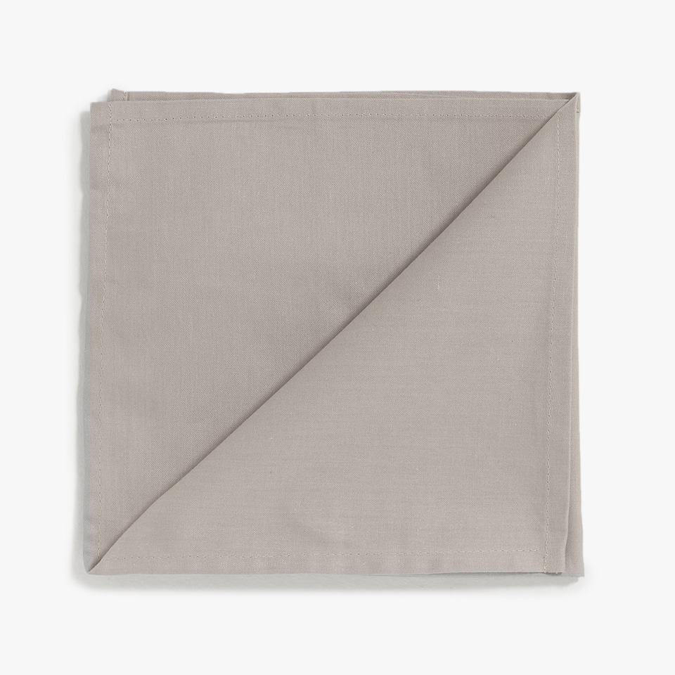 SERVIETTE DE TABLE COTON (LOT DE 4)