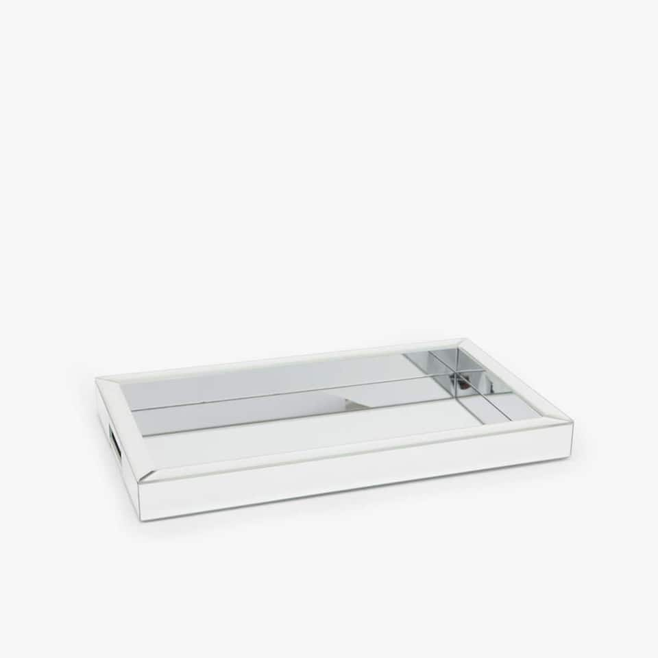 RECTANGULAR MIRRORED TRAY