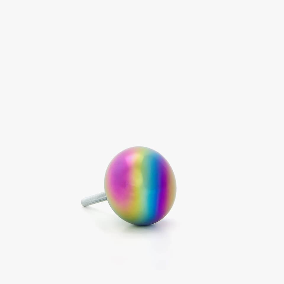 COLORED DOOR KNOB (PACK OF 2)
